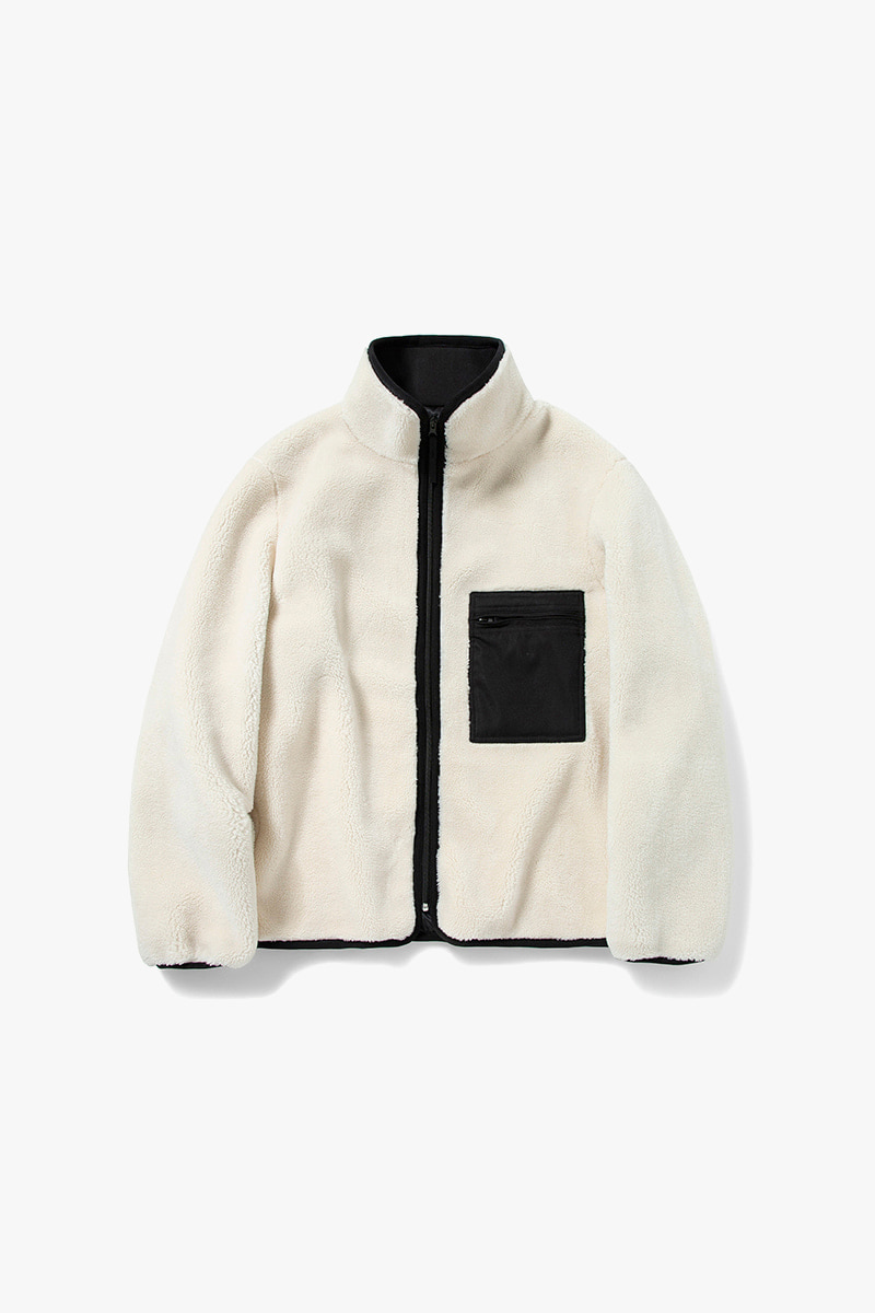 MANIN Premium Connect Fleece Jacket_Ivory
