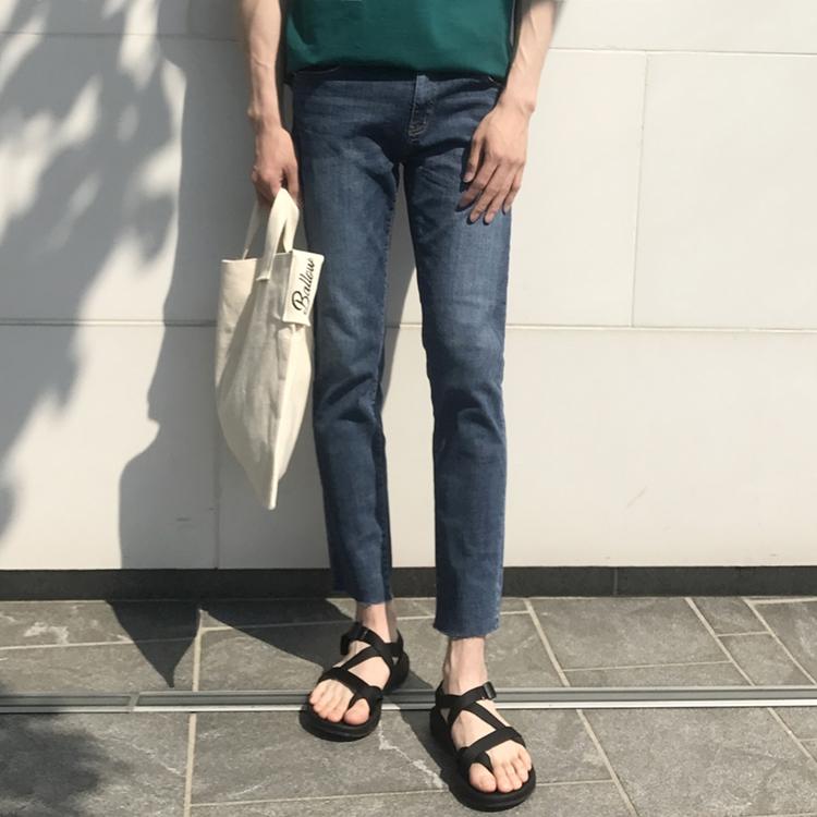 DUN 5051 Cut Denim Pants