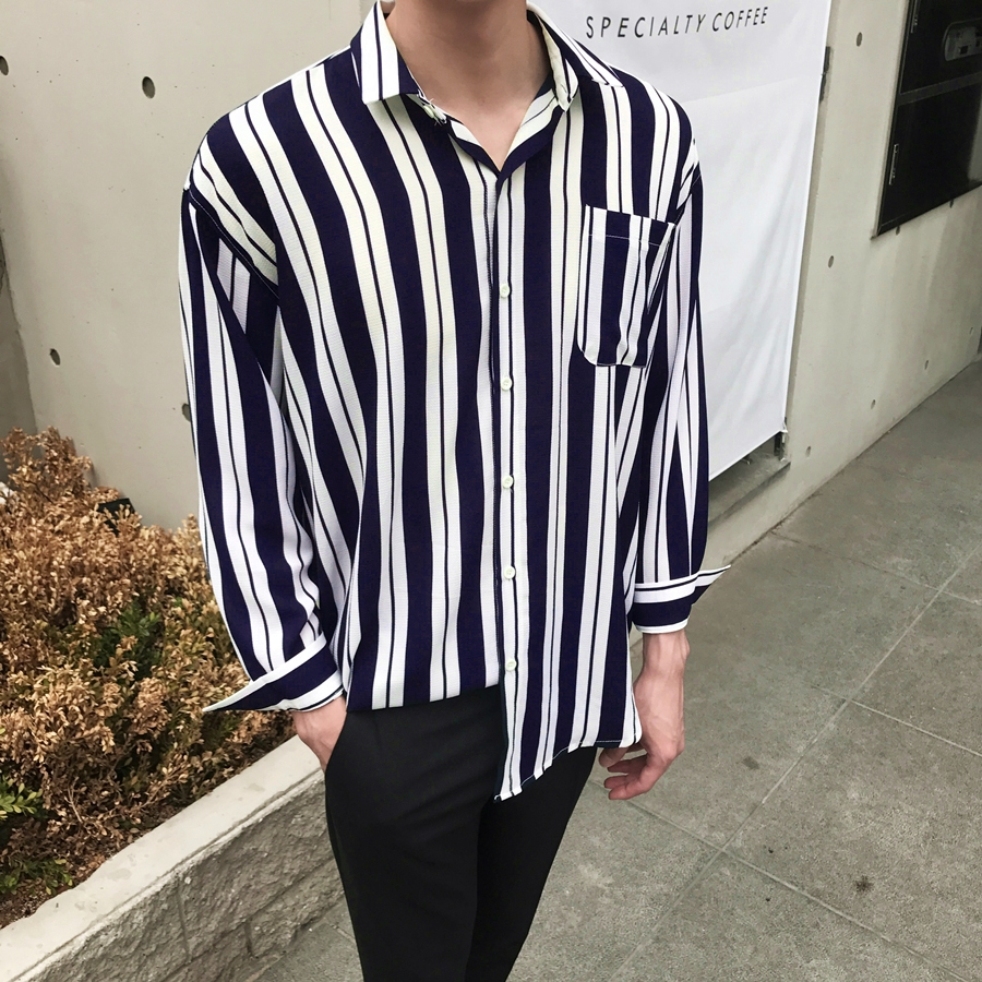AC Bandan Stripe Shirts (2Color)