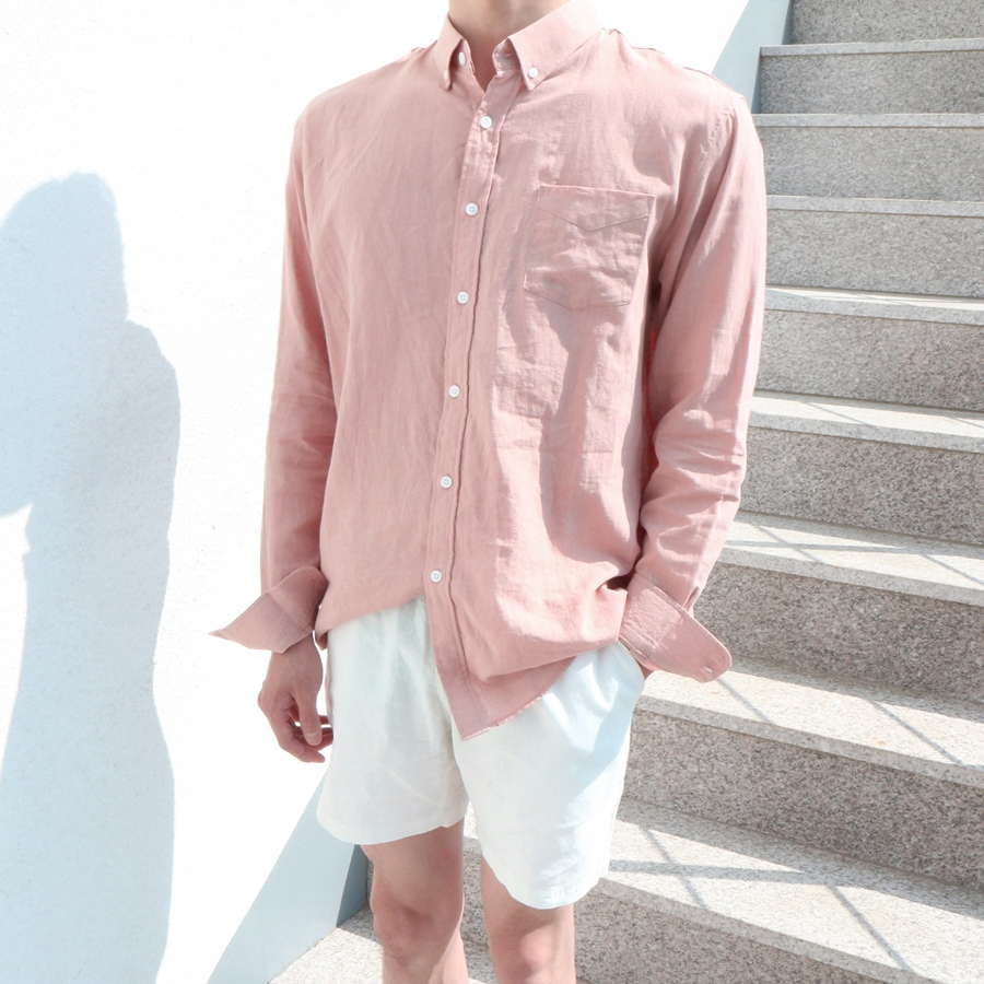 BLU Summer Linen Shirts (5Color)