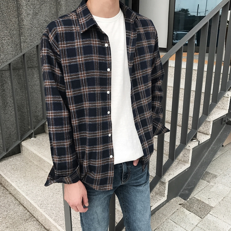 CM Loose Check Shirts