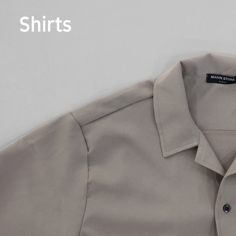 [SALE] Defect MANIN Premium No Kara Shirts
