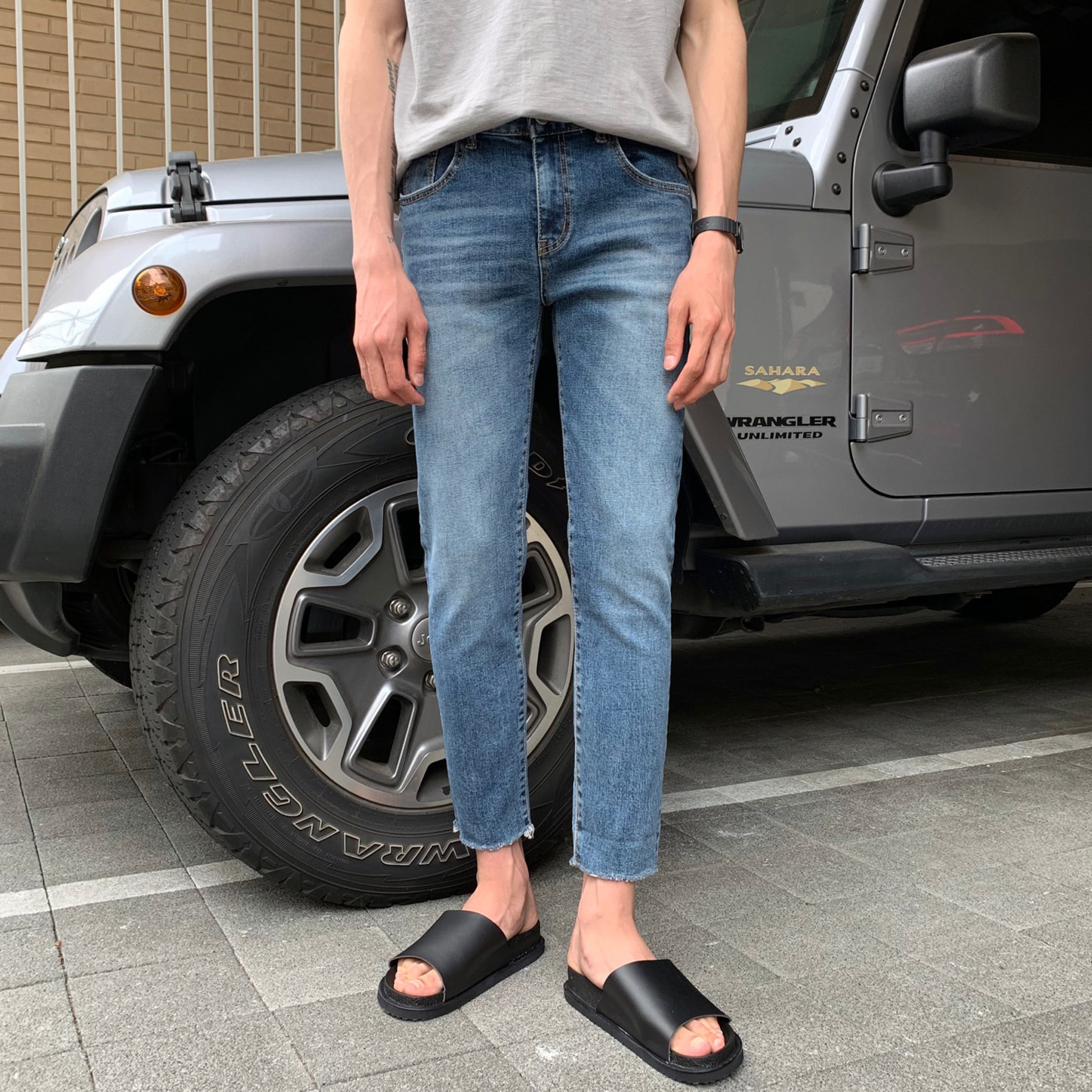 SE 1743 Mid Denim Jean*